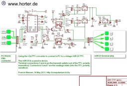 RS232 20mA current loop circuit